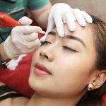 Phun lông mày không lên màu: nguyên nhân và cách khắc phục